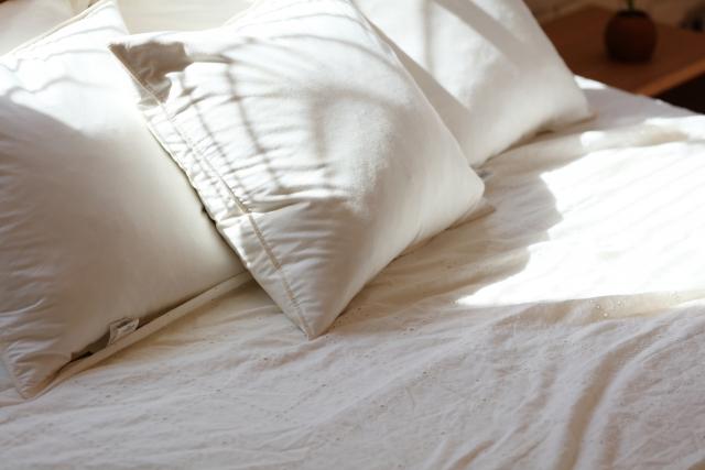 枕カバーを毎日変える
