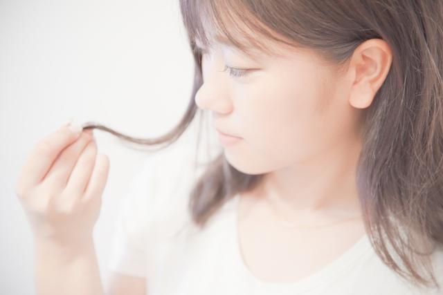 切れ毛の原因